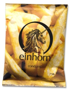 Vegane Kondome Foodporn - Einhorn