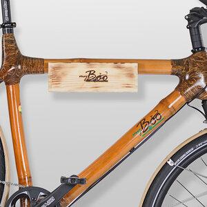 Wandhalterung für Fahrräder aus Holz - my Boo