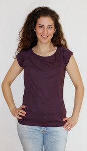 Bio-Bambus-Viskose Shirt unbedruckt - Peaces.bio - EarthPositive® - handbedruckt