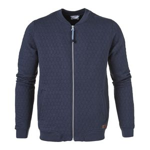 Quilted Jersey Bomber Total Eclipse - KnowledgeCotton Apparel