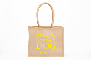 """Eco Shopper """"All you need is love...and a dog"""" - Treusinn"""