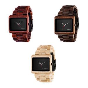 Kerbholz Reineke Uhr aus Holz - Kerbholz