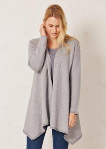 Tiari Kay Cardigan Grey Marle - Thought | Braintree
