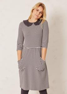 Eve Allora Dress Stripe - Braintree
