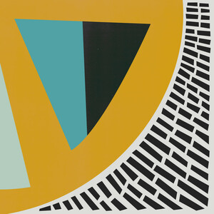 Mustard Citrus Abstract - Poster von Fox And Velvet - Photocircle