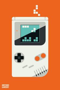 Icons Gameboy - Poster von Bo Lundberg - Photocircle