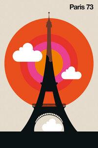 Paris 73 - Poster von Bo Lundberg - Photocircle