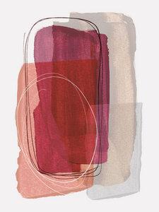 Abstract Brush Strokes 48 - Poster von Mareike Böhmer - Photocircle