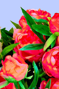 I'd Rather Wear Flowers Than Diamonds - Poster von Uma Gokhale - Photocircle