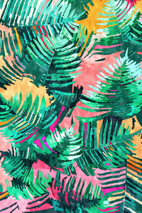 I'm All About Palm Trees & 80 Degrees - Poster von Uma Gokhale - Photocircle