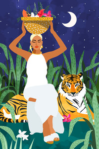 I've ended up where I needed to be - Poster von Uma Gokhale - Photocircle