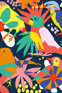 Flamboyant, Unashamed & Free - Poster von Uma Gokhale - Photocircle
