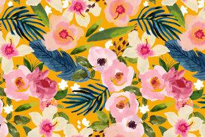 No Winter Lasts Forever; No Spring Skips It's Turn - Poster von Uma Gokhale - Photocircle