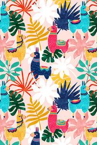 Keep Being Llamazing - Poster von Uma Gokhale - Photocircle