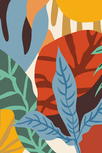 Wherever life plants you, bloom with grace - Poster von Uma Gokhale - Photocircle
