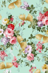 Where Flowers Bloom So Does Hope - Poster von Uma Gokhale - Photocircle