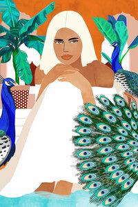 Indian Vacay - Poster von Uma Gokhale - Photocircle