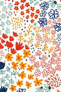 My Soul Made Meadow Flowers - Poster von Uma Gokhale - Photocircle