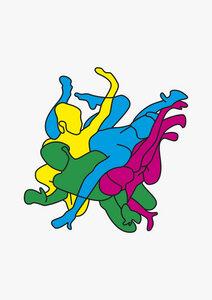 Knoten - Poster von Lukas Frischknecht - Photocircle