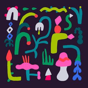 Night Plants - Poster von Aley Hanson - Photocircle