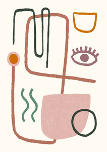 Feel Good 5 - Poster von Dan Hobday - Photocircle