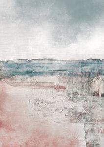 Misty Landscape - Poster von Dan Hobday - Photocircle