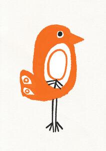 Birdy - Poster von Dan Hobday - Photocircle