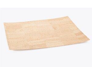 Tischset Platzmatte Platzdecke aus Kork beige 41,5 x 31,5 cm - ARTELUSA ®