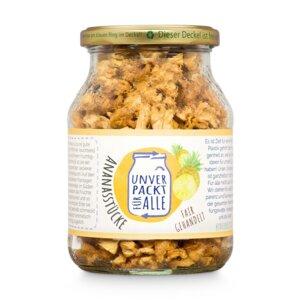 Bio Ananasstücke aus Sri Lanka | 210g - Unverpackt für alle