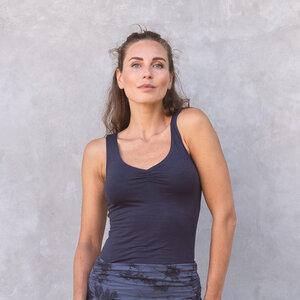 NOURI UNI - Damen - lockeres Top für Yoga aus Biobaumwolle - Jaya