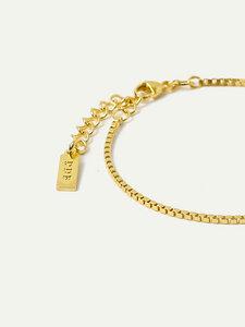 Armband Eden | Venezianerkette in Gold und Silber | 15cm Länge - DEAR DARLING BERLIN