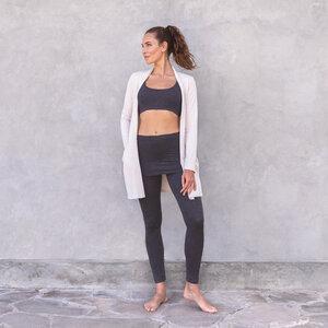 MAY - Damen - Cardigan aus Tencel-Biobaumwoll-Mix für Yoga und Freizeit - Jaya