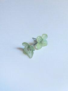 Blumen Ohrringe ICE GREEN - Sekundär