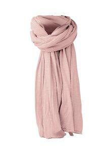 Rosa Unisex-Schal Saisonal Bio Baumwolle - d'Els chic essential