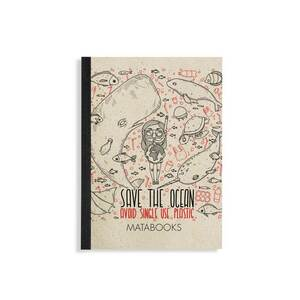"Notizbuch Dahara - ""Save the Ocean"" - Matabooks"