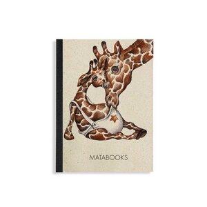 """Notizbuch Dahara - Baby Giraffe"""" - Matabooks"""
