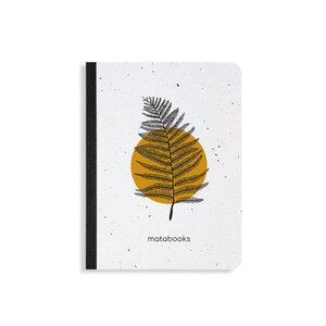 "Samenbuch aus Graspapier - ""Orange"" - Matabooks"