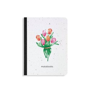 "Samenbuch aus Graspapier - ""Tulip"" - Matabooks"