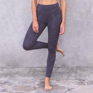 SUMATRA - Damen - Leggings für Yoga und Freizeit aus Biobaumwolle - Snake Print - Jaya