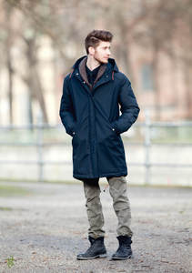 Parka Duncan Midnight - LangerChen
