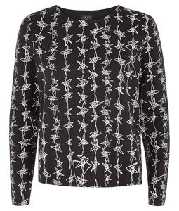Zandra Rhodes dancing stars long sleeve top - People Tree