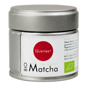 Japan Bio Matcha Pulver -  Original Japan Matcha Tee - Premiumqualtiät  - 30 g Dose - Quertee