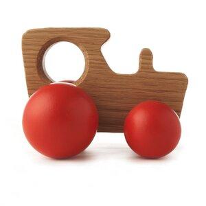 Holz-Traktor - steam - Hop & Peck