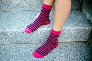Striped Socken // Unisex // Bio & Fair - ilovemixtapes