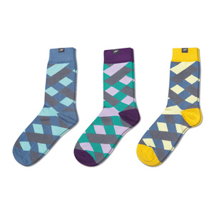3 Paar Socken Geschenk-Set Picnic Anarchy - MINGA BERLIN