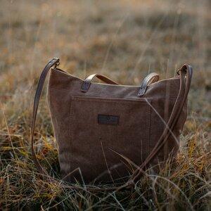 Tasche aus Bio-Baumwolle FINJA - NORDLICHT