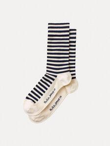 Unisex Socken Olsson Breton Stripes - Nudie Jeans