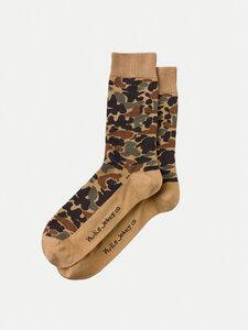 Unisex Socken Olsson Camo Multi - Nudie Jeans