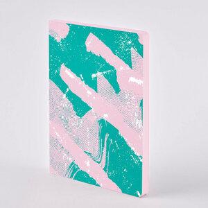 Scratched Candy - Premium Notizbuch mit Ledereinband - Nuuna