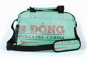 Weekender aus recycelten Reissäcken - El Puente